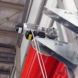 پایه موتورهای انحصاری کرکره های صنعتی