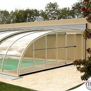 سقف متحرک سازه فلزی